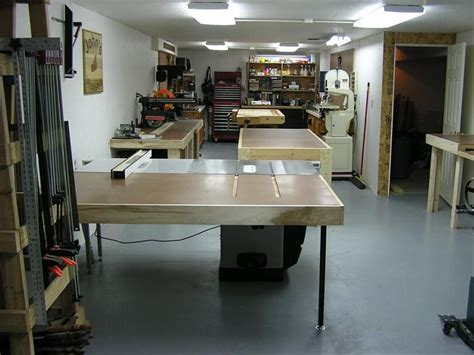 johns basement woodshop shop  wood shop shop