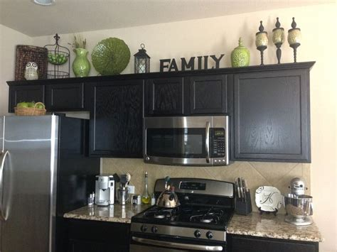 decorating ideas for kitchen cabinet tops home decor decorating above the kitchen cabinets kitchen