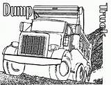 Coloring Truck Pages Dump Semi Trucks Printable Garbage Simple Drawing Template Finest Cutouts Boys Getdrawings Bestcoloringpagesforkids Results Popular sketch template