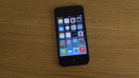 iPhone 4 iOS 7.1 Beta - Review - YouTube