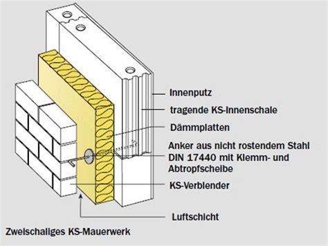 2 schaliges mauerwerk zweischalige au 223 enw 228 nde mauerwerk wand baunetz wissen