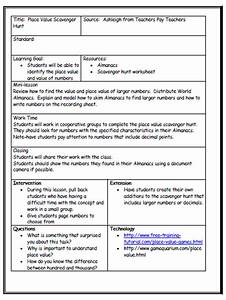 lesson plan template with differentiated instruction With team lesson plan template tn