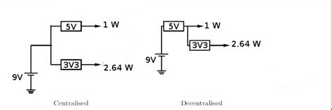 Two Voltage Regulators Series Parallel