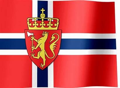 Norway Flag Arms Coat Flags Northwest Europe