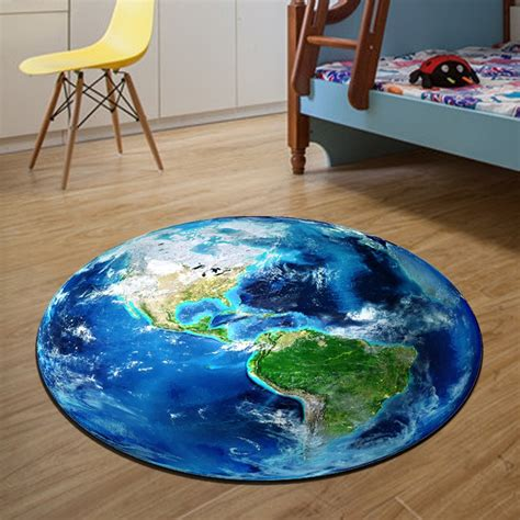 world map  carpet diameter cm parlor