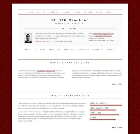 Resume Theme 2014 by Beautiful Themes For Cv Or Resume Design Dazzlingdesign Dazzling