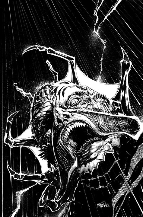 ArtStation - JEEPERS CREEPERS COVER, Tom Mandrake