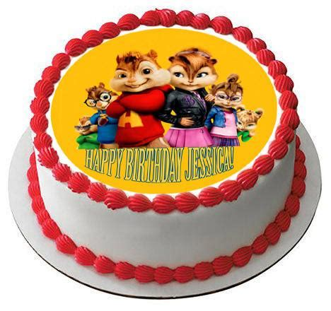 alvin and the chipmunks road chip 4 edible cake topper