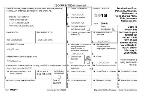 federal form 1099 r instructions universal network