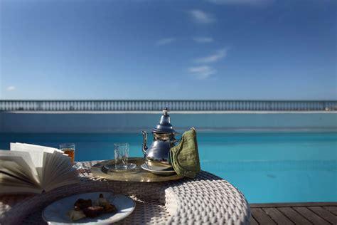 chambre essaouira hotel riad avec piscine chauffée à essaouira l 39 heure bleue