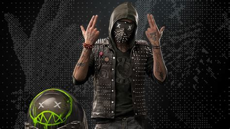 Watch Dogs 2 Wrench Wallpaper Wrench Watch Dogs 2 Game Mask Wallpaper 1147