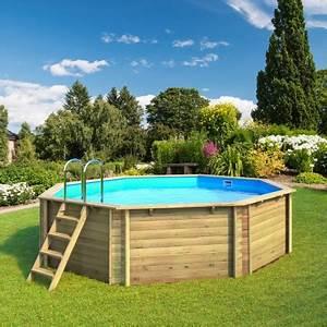 Dimension Piscine Hors Sol : piscine hors sol bois tropic proswell ~ Melissatoandfro.com Idées de Décoration