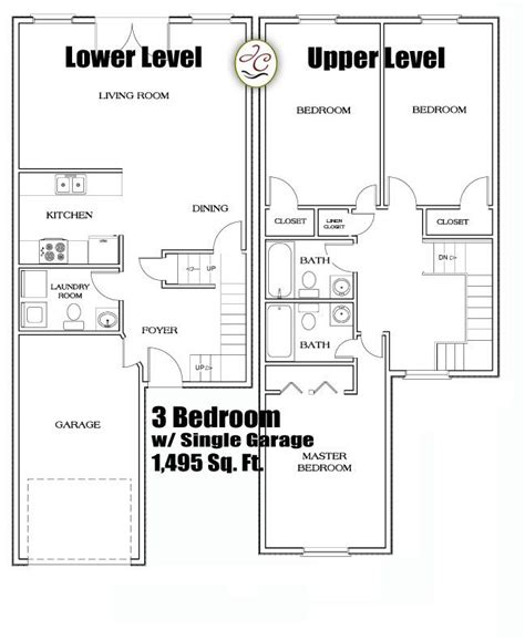 3 Bedroom Townhouse Plans Australia by 3 Bedroom Townhomes In Flint Mi 3 Bedroom Townhouse Floor