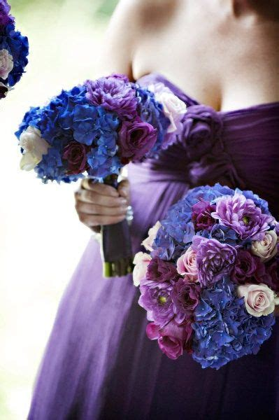 17 Best Images About Purple And Blue Wedding Colors On
