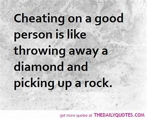 Cheating Quotes... Good Rock Quotes