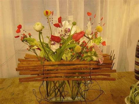ideas  spring home decorating  flowers simple