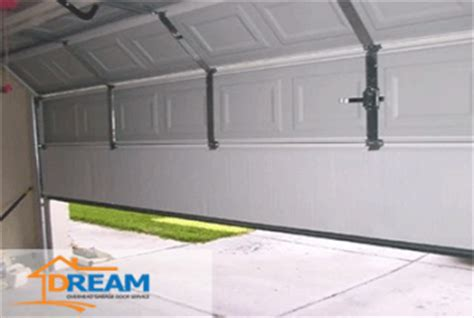 how to balance a garage door with side springs unbalanced garage door what to do when yours is uneven