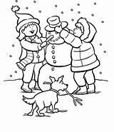 Coloring Snow Snowman Snowy Making Winter Printable Drawing Plow Scene 9baa Shopkins Crush Let Sheets Worksheet Getdrawings Getcolorings Houses Illustrations sketch template