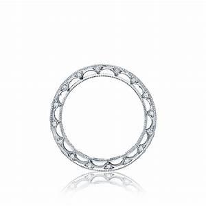 tacori wedding bands reverse crescent diamond 097ctw With wedding ring tacori