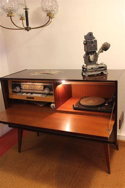 meuble bout de canapé ancien meuble hifi vintage by fabichka