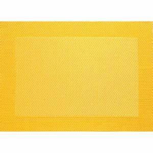 Set De Table Jaune : set de table jaune ~ Teatrodelosmanantiales.com Idées de Décoration