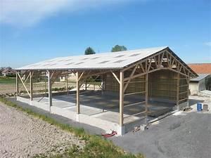 Charpente Traditionnelle Bois En Kit : charpente bois hangar obtenez des id es de ~ Premium-room.com Idées de Décoration