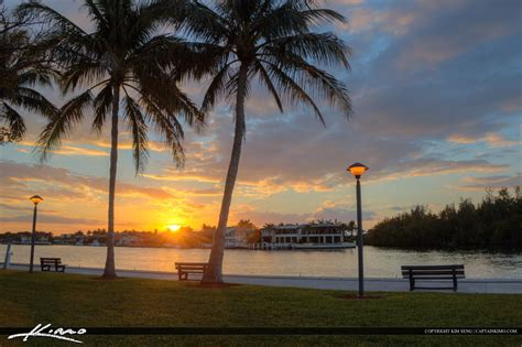 Buy Chair by Boca Raton Florida Sunset At Waterway