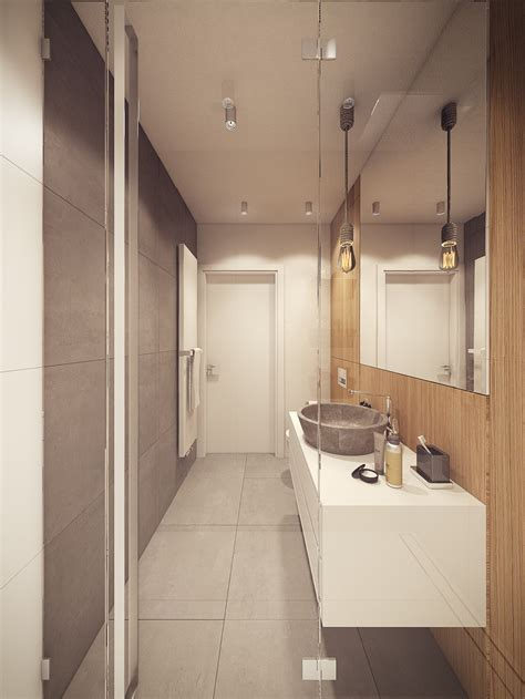 A 60s Inspired Apartment With A Creative Layout And Upbeat Vibe by Slate And Wood Bath Interior Design Ideas