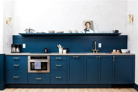 kitchen cabinets backsplash beautiful blue kitchen design ideas
