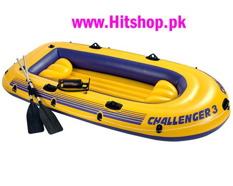 Inflatable Boats For Sale In Pakistan by Intex Challenger 3 Inflatable Boat Set In Pakistan Hitshop