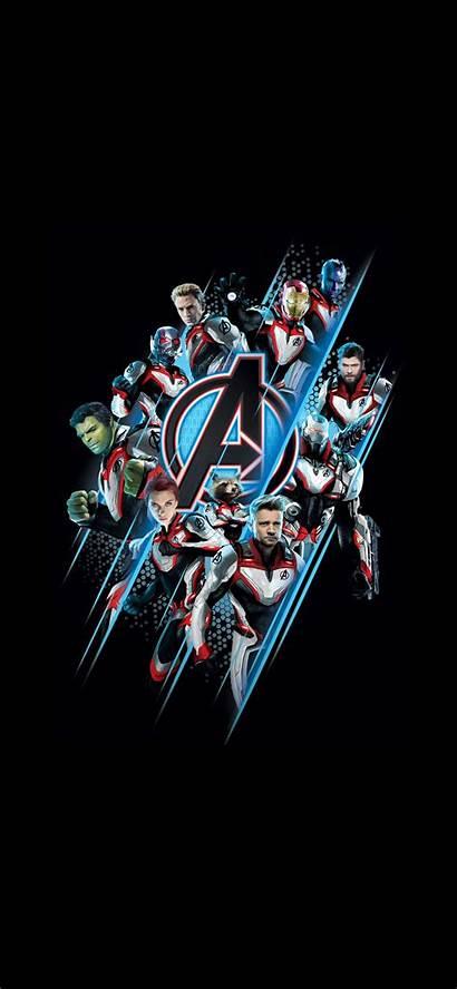 Wallpapers Marvel Amoled Avengers Phone Endgame