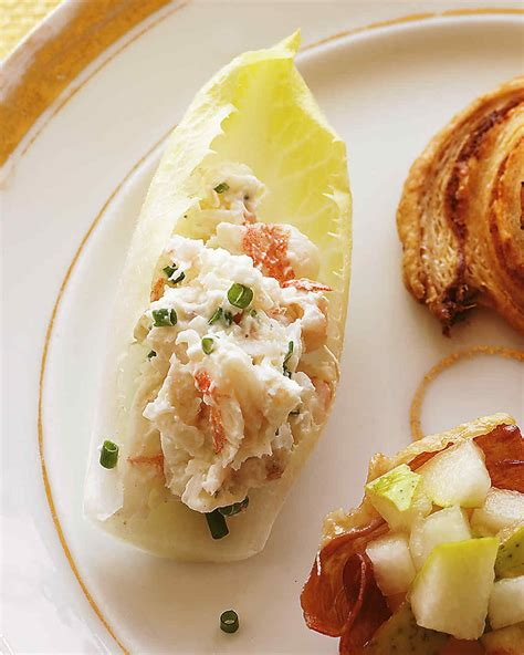 freeze ahead canapes recipes endive with shrimp salad