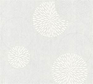 Malervlies Tapete Mit Struktur : tapete vlies berstreichbar kreise as creation 32130 1 ~ Michelbontemps.com Haus und Dekorationen