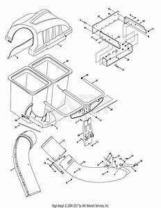 Mtd 19a70001799  24919  Twin Rear Bagger  2009  Parts