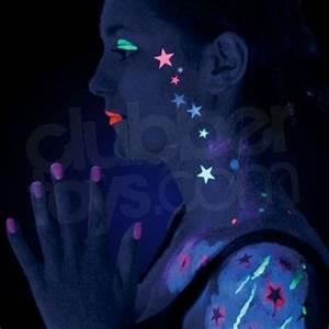1000 ideas about Neon Face Paint on Pinterest