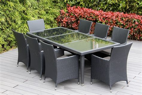 Genuine 16piece Ohana Wicker Patio Furniture Set (outdoor