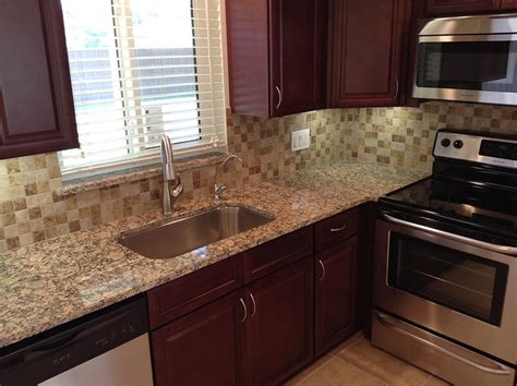 buy cherry glaze rta ready  assemble kitchen cabinets