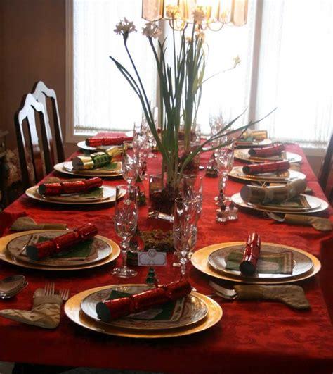 Red Christmas Dining Table Decorations   Decobizz.com