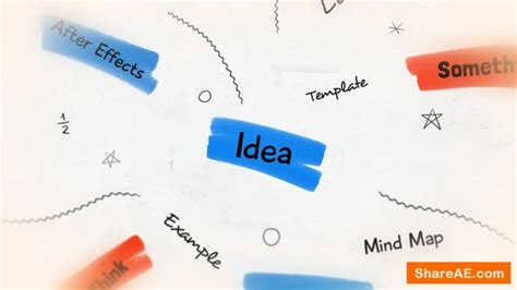 After Effects Templates Free Shared by Videohive Whiteboard Brainstorm 187 Free After Effects