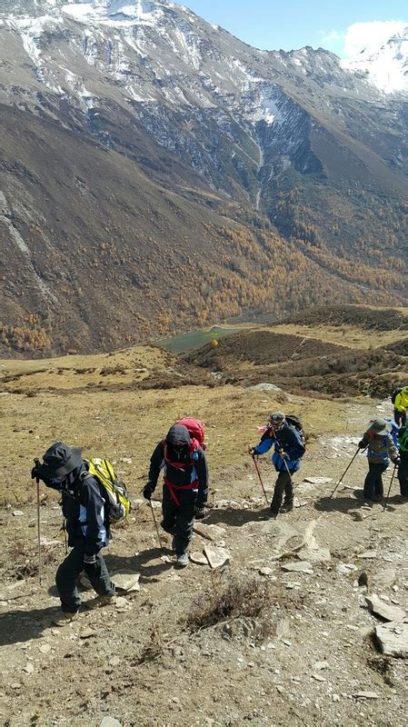 Mountain Siguniang Trekking Hiking Climbing Vertical