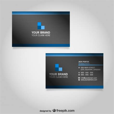 business card design templates  freepik