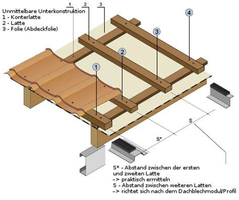 sandwichplatten dach unterkonstruktion fotostrecke montage pfannenprofilblechen der dachplattenprofi