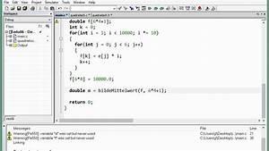 Durschnitt Berechnen : 06d 2 funktion die den mittelwert eines arrays bestimmt ~ Themetempest.com Abrechnung