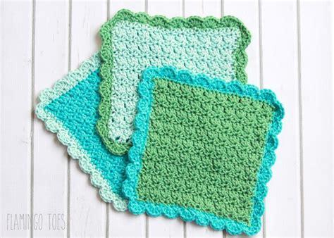 crochet dishcloth patterns easy crochet dish cloth pattern i love this yarn crochet dishcloths and stitches