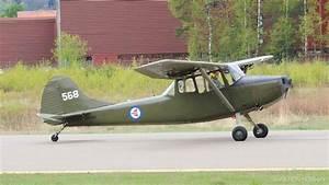 Airplane Acrobatics - Cessna L19 Bird dog - YouTube