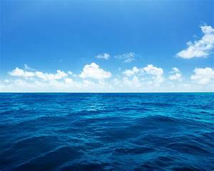 Wallpaper, Beautiful, Blue, Sea, Water, White, Clouds, 2880x1800, Hd, Picture, Image