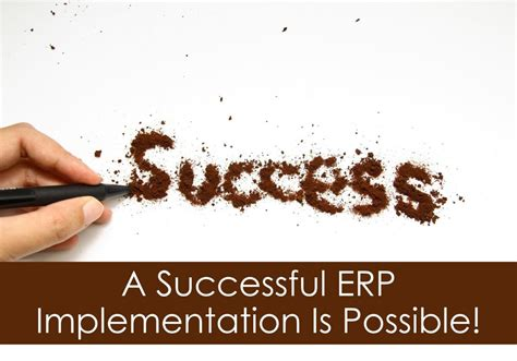 successful erp implementation   archerpoint