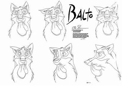 Balto Character Sheet Sheets Cartoon Concept Characters