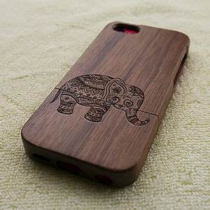 Wood iPhone 5C case, wooden iPhone 5C from WoWood on Etsy