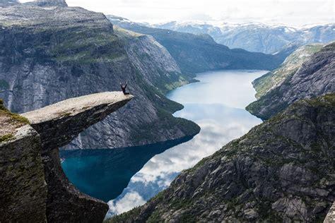 Trolltunga Norway Hordaland Fylke Norway Troveon